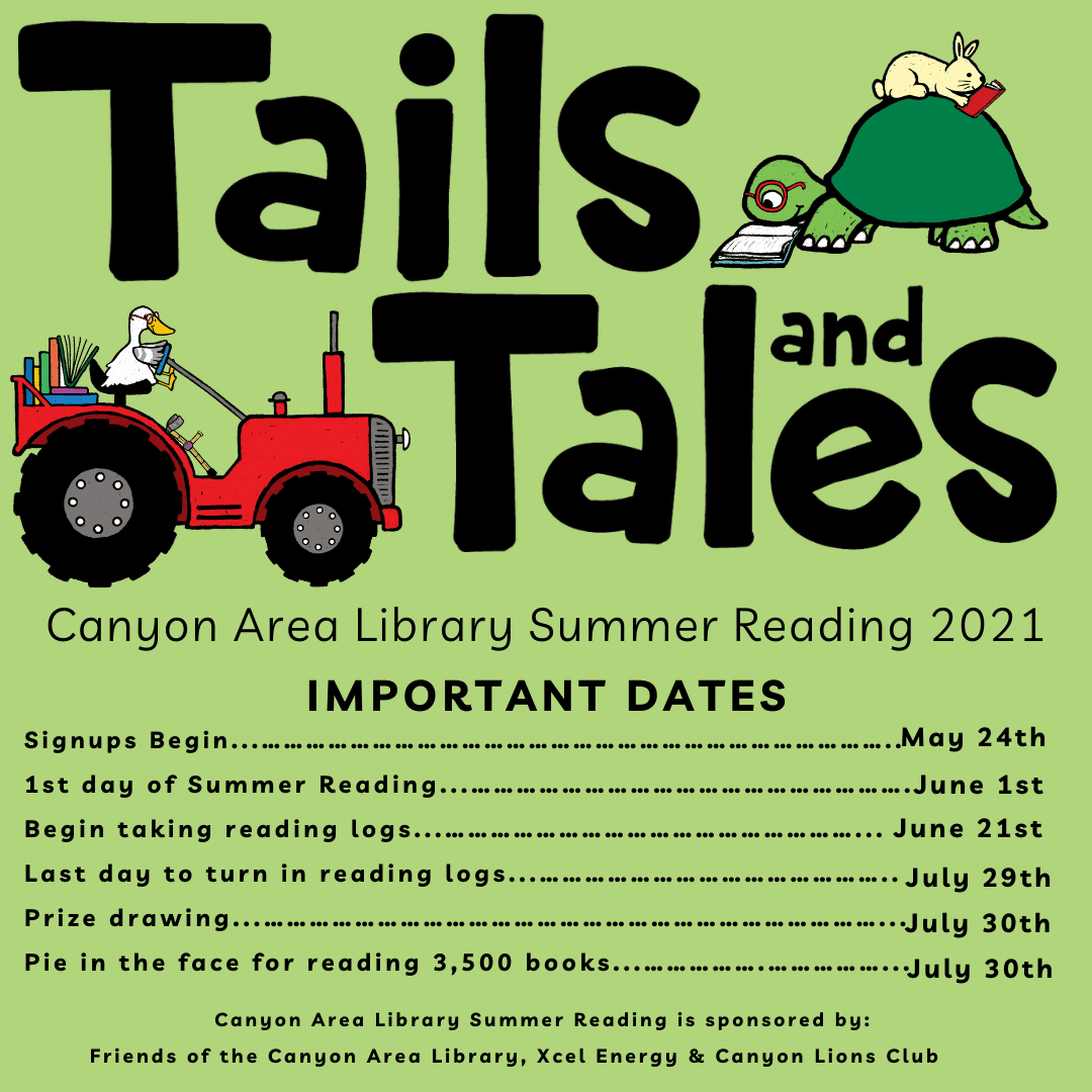 Summer Reading Important dates (1)